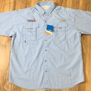NWT Columbia PFG Omni Shade Vented Fishing Shirt